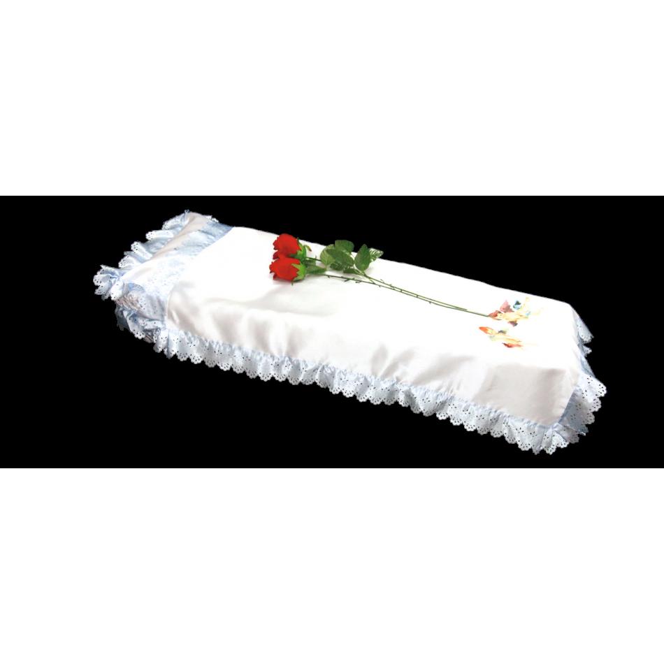 Набор для гроба детский «Ангел»